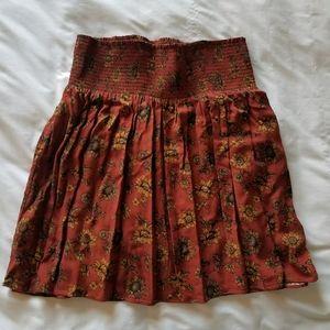 Super cute sunflower miniskirt